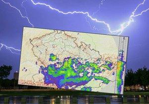 Bouřky ještě neřekly poslední slovo: Kroupy a přívalový déšť se vrací