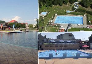 Víkendové letní teploty potáhnou k vodě: Kam v Praze vyrazit na první koupačku?
