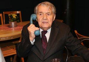 Ladislav Trojan randil s Olgou Havlovou.