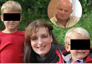 Michaláková děti bila, Davídek se jí bál a neměl ji rád, tvrdí otec