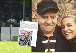 Dara Rolins drsně o zmeškaném pohřbu otce: Strčte si ty moudré rady někam