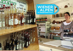 Dolní Rakousko je krajem rodinných farem: Ochutnejte vinné pečivo i farmářské produkty.