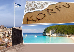 Korfu je smaragdem Jónského moře.