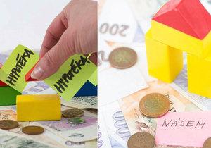 Nájem, nebo hypotéka? Co je lepší?