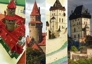 Model vs originál! Porovnejte stavby z lega s historikými stavbami.