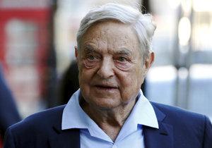 Miliardář George Soros varuje před brexitem.