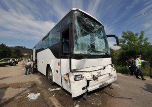Autobus shořel v Rakousku.