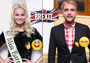 České celebrity mají na Brexit jiný pohled.