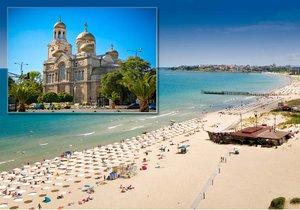 Rozlehlé pláže, krásná příroda, tyrkysové moře a perfektní cena! To je Bulharsko