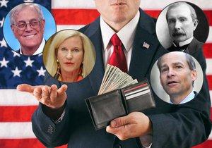 Časopis Forbes prozradil tajemství miliardářů: Podívejte se na nejbohatší rodinné klany USA