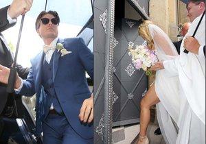 PŘÍMÝ PŘENOS ze svatby: Ondřej Brzobohatý Gregor si bere někdejší Miss World Kuchařovou!