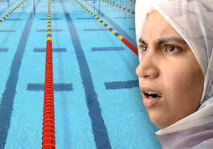 Muslimské školačky nechtěly chodit na plavání: Švýcarsko jim neudělilo občanství