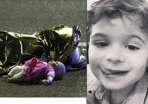 Z obrázků mrtvých dětí opravdu mrazí...