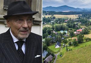 Karel Gott a jeho rodina už vědí, co s pozemkem v Doubici! Postaví »rozprávkový dom«!
