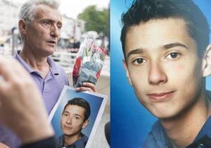 Útok v Mnichově: Dijamant (21) volal otci minuty před smrtí. Vrah stál vedle něj