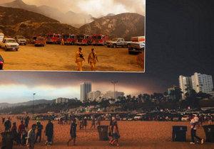 Los Angeles v plamenech! Město andělů bojuje s rozsáhlými požáry.