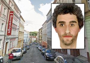 Tento muž by mohl pomoci s objasněním znásilnění v Milíčově ulici v Praze 3.