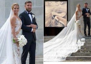 Kolik stála veselka tenistky Dominiky Cibulkové a jejího partnera Michala Navary?