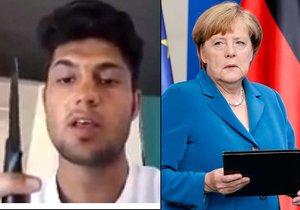 Německý týden hrůzy jako facka Merkelové. Migranti vraždili, kde se dá
