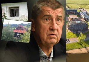 Babiš na Slovensku rozprodává domy a chalupy. Pro Čapí hnízdo na ně nemá čas