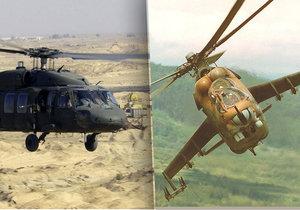 Armáda chce vyměnit staré sovětské vrtulníky za moderní modely.