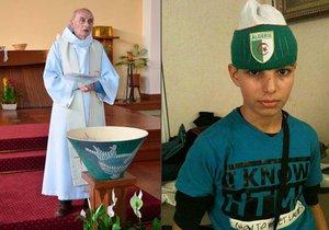 Hlavu knězi ve Francii uřízl dětský řezník (†19), policie ho sledovala hlídacím náramkem