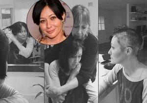 Hvězda seriálu Beverly Hills 902 10 si kvůli rakovině oholila havraní vlasy: Vše sdílela s fanoušky na Instragamu.