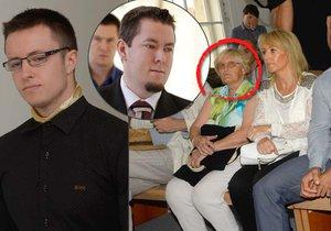 K soudu s Nečesaným přišla babička korunního svědka vraha Jiřího Fundy.