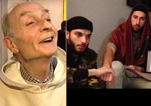 Tihle dva popravili francouzského kněze! ISIS zveřejnil šokující video s dětskými řezníky