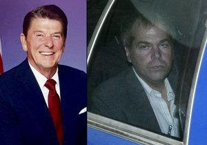 John Hinckley postřelil amerického prezidenta Ronalda Reagana.