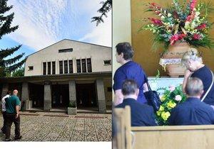 Pohřeb oběti šílené vražedkyně z Teska: Zdrcená rodina zasypala rakev květinami