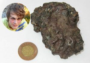 Záhada na Mladoboleslavsku! Na sedmnáctiletého Matěje spadl meteorit.