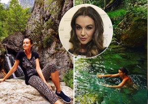 Iva Kubelková vyrazila s rodinou opět do Řecka. Tentokrát však modelka bajný Olymp nezdolala.