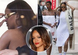 Rihanna se na procházce Prahou zahalila do opravdového luxusu!