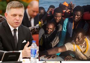 Fico natvrdo: Migrace a terorismus spolu souvisí. Zeman to vidí podobně