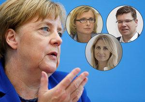 """Merkelová to schytala: """"Neuzná chybu."""" Kdo pro ni v Česku našel pochopení?"""