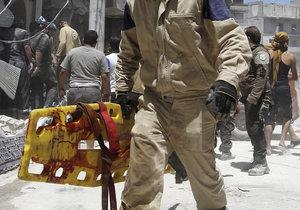 Syrská provincie Idlíb prožívá velmi těžké období.