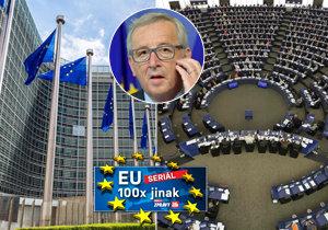 EU má spoustu institucí, které se vzájemně kontrolují.