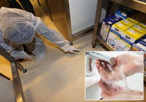 V restauracích v Praze řádili hygienici: Kuchaři si nemyjí ruce, zjistili