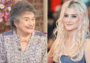 87letá Sheila Vogel-Coupe je babičkou zpěvačky Katie Waissel.