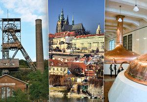 Jaké jsou nejnavštěvovanější české památky?