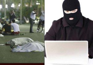 Hackeři kradli hesla pomocí falešné zprávy.