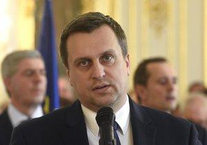 Šef Slovenské národní strany Andrej Danko