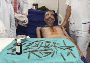 Ind má štěstí, že je naživu.