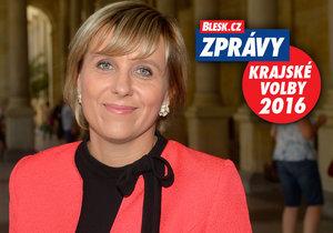 Babišova karlovarská jednička Jana Vildumetzová (ANO 2011): Největším problémem kraje je chybějících 81 kilometrů dálnice D6.
