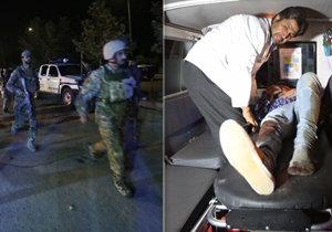 Extremisté napadli Americkou univerzitu v Kábulu.