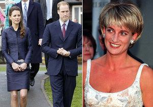 Princ William promluvil otevřeně o bolesti ze ztráty své matky princezny Diany.