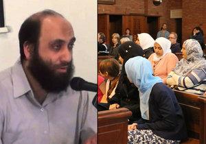 Pražský muslimský duchovní Samer Shehaded měl údajně hrozit muslimům za mši v křesťanském kostele.