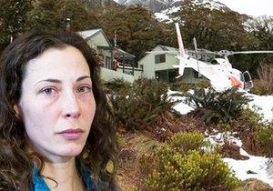 Češka Pavlína zachráněná na Novém Zélandu: Chci domů co nejrychleji!