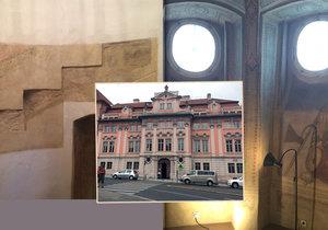 Takto nyní vypadá Faustův dům na Karlově náměstí v Praze.